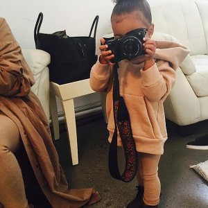 Kim-Kardashian-North-West-Yeezy-Season-2-Fashion-Show
